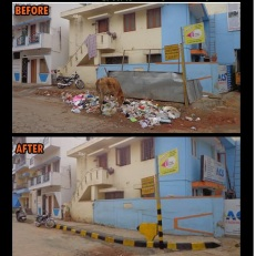 Veeranna Garden Clean-up