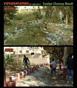 Vidyaranyapura Clean-up