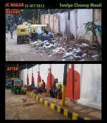 JC Nagar Clean-up