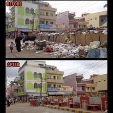 RT Nagar Clean-up