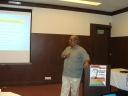 Shri K Jairaj, IAS giving a talk on the working of Urban Local Bodies