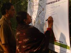 Community mapping drive at Frazer Town