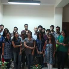 Environmental Action interns interacted with Dr Deepak Malghan, IIM-B