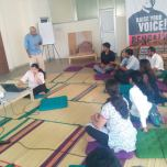 Environmental Action Interns at a session with Varun Santhosh on Environmentalism in India