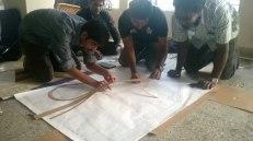 Urban Action interns in Studio Chaape